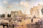 Queen Square c.1860 Spencer Macky 1924