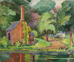 Pumphouse by Frieda Creighton Creelman