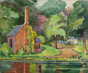 Pumphouse by Frieda Creighton Creelman