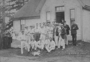 Charlottetown Cricket Club at Victoria Park, 1884