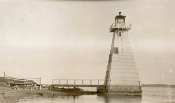 Brighton Beach Front Range Light Courtesy Canadian Coast Guard
