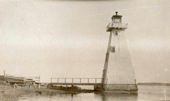 Brighton Beach Front Range Light Courtesy Canadian Coast Guard