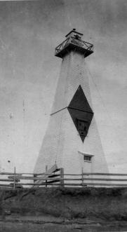 Haszard's Front Range Light, 1913 Courtesy of the Canadian Coast Guard