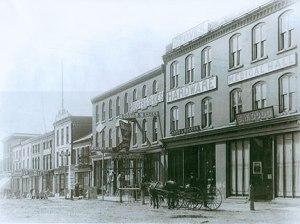 Queen Street c. 1887