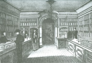 W.R. Watson's Interior, Courtesy of Meacham's 1880 Atlas