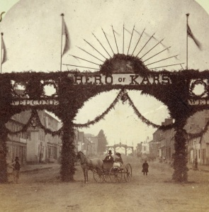 Queen Street, c. 1860, Courtesy of the Public Archives and Records Office