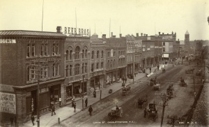 Queen Street, west side, Courtesy of the Public Archives of Prince Edward Island