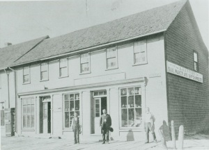 A. Kennedy's Ship Chandlery,  Lower Queen. The business would  move to 32 Queen by 1909