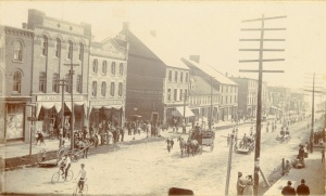 Queen Street East, c. 1892, Courtesy of the Public Archives and Records Office