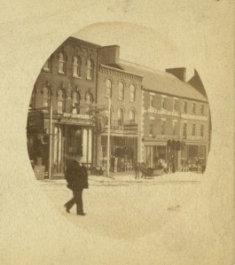 Queen Street east, Pre 1892, Courtesy of the Public Archives and Records Office