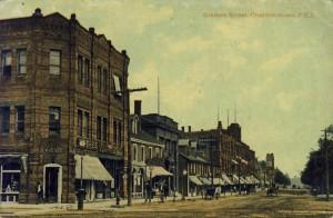 Grafton Street, Postcard