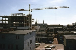 Confederation Court Mall under Construction, Courtesy of the CADC