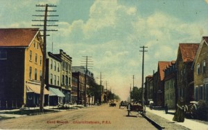 Kent Street between Queen and University Avenue postcard