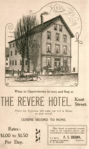 Revere Hotel advertisement