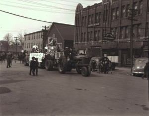 East side of University Avenue, Courtesy Public Archives and Records Office