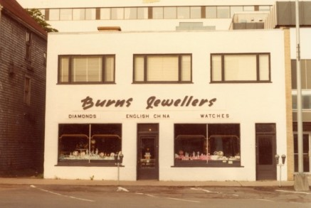 Burns Jewellers, c. 1983, City of Charlottetown Collection