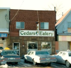 Cedar's Eatery, c. 1983, City of Charlottetown Collection
