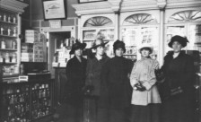 Interior of the Two Macs Drug Store, c. 1920, Francis P Hennessey and Stella M Mullen Collection