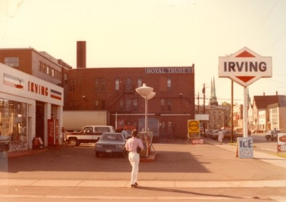 Irving Station, on the south east corner of Fitzroy and Great George Street, c. 1983
