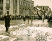 Remembrance Day Ceremony at the Cenotaph, undated, D. Scott MacDonald Collection
