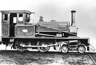 Engine No.1, PEI Railway <br> Photo Courtesy of the Public Archives and Records Office Acc 2301-268