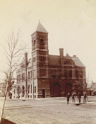 City Hall, c. 1888 <br> Public Archives and Records Office Acc 3218-72