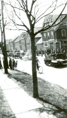 VE (Victory in Europe) Day parade, 7 May 1945 <br> Frank M Stewart Collection, City of Charlottetown Archives