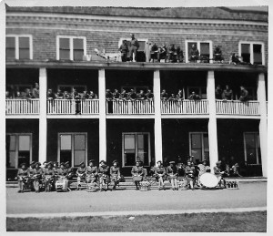 Canadian Women's Army Corps Band, No.62 Canadian Army Basic Training Centre Beach Grove WWII <br /> Photo courtesy of the Prince Edward Island Regiment Museum