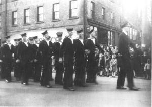 HMCS Queen Charlotte Naval Reserve <br> Photo courtesy of the Prince Edward Island Regiment Museum