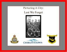 Picturing A City: Lest We Forget