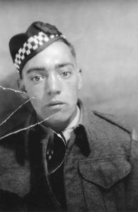 Private William Edward Shephard (1922-1944) <br> Photo Courtesy of Darlene Doiron
