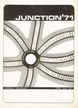 Junction 71 poster <br> Poster courtesy of Frank M Stewart Collection, City of Charlottetown Archives