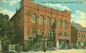 Masonic Lodge Opera House/Prince Edward Theatre Postcard, c.1910 <br> Postcard courtesy of the City of Charlottetown Archives