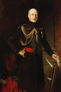 Prince Arthur, Duke of Connaught, 1908 <br> Painting by John Singer Sargent