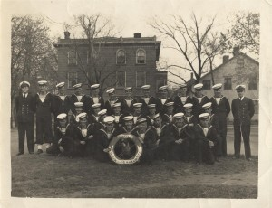 HMCS Queen Charlotte Reservists, King Square