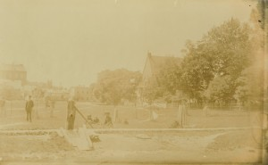 Rochford Square, 1884 <br> Photo courtesy of the Public Archives and Records Office, Acc2301-89