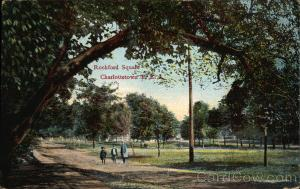 Rochford Square, Postcard <br>Postcard courtesy of the City of Charlottetown Archives