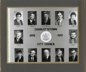 City Council Post Amalgamation <br> CIty of Charlotteotwn Archives