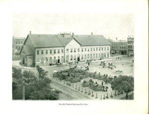 The Butcher Market House/City Hall <br> City of Charlottetown ArchivesHall