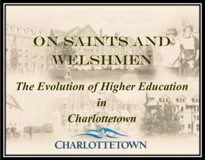 On Saints and Welshmen Exhibit