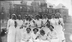 1911 Prince of Wales Home Sciences class <br> Dorothy Forsythe Collection, City of Charlottetown Archives