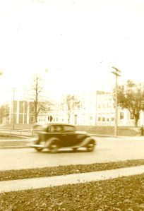 Prince of Wales College Building, 1930s <br>Carolyn McKillop Collection, City of Charlottetown Archives