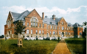 Prince of Wales College, 1910 <br> David MacNevin Collection, City of Charlottetown Archives