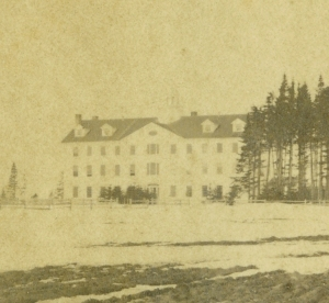 St. Dunstan's College, 1862 <br> Photo courtesy of the Public Archives and Records Office