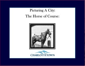 Title: Picturing A City: A Horse of Course