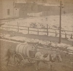 Water Delivery on Rochford Square <br> City of Charlottetown Archives