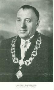 Mayor James E. Blanchard (1893-1960) <br /> Photo: City of Charlottetown Archives