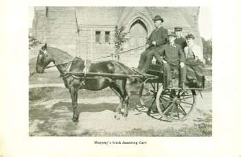 Murphy's Irish Jaunting Cart <br>Frank M Stewart Collection, City of Charlottetown Archives
