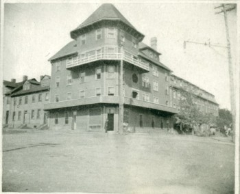 Hotel Davies <br> Frank M Stewart Collection, City of Charlottetown Archives